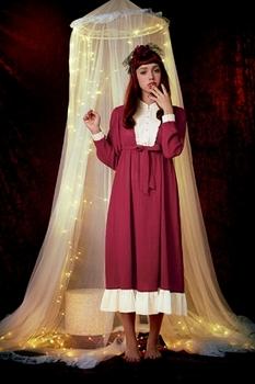 クリスマスにサンタ衣装はちょっと…な乙女にピッタリ,オトナな雰囲気で素敵.jpg